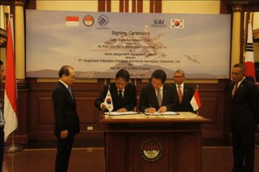 KAI inks Deal to Jointly Develop Next-Generation Fighter with Indonesia