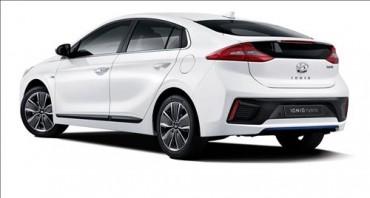 Hyundai Motor Unveils Ioniq Hybrid Aiming at Market Leader Prius