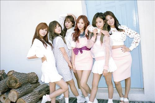 South Korean girl group Apink (Image : Yonhap)