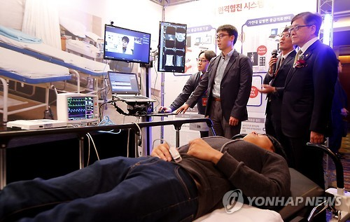 According to the Ministry of Health and Welfare, the government will expand the region, size, and targets when it executes its third telemedicine system test run. (Image : Yonhap)