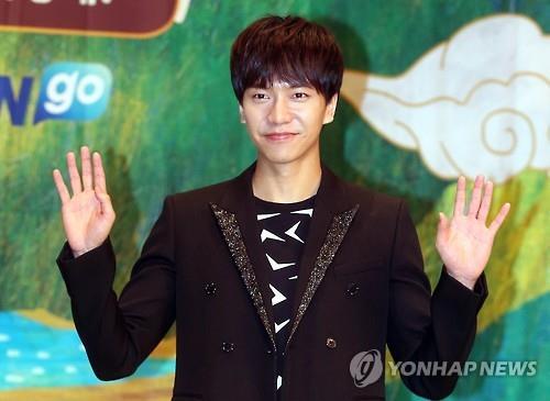 South Korean actor-singer Lee Seung-gi (Image : Yonhap)