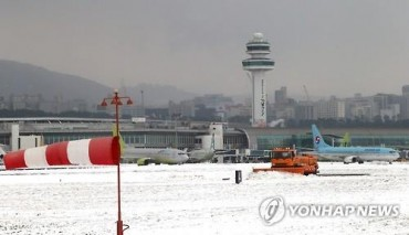 Jeju Airport Resumes Operations After Near 2-Day Shutdown