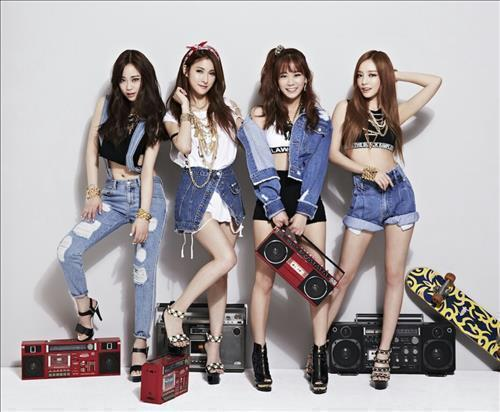 Girl group KARA (Image : Yonhap)