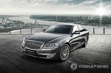SsangYong to Launch 'Kaiser' Luxury Sedan
