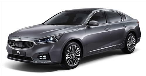 Kia Motors Corp.'s all-new K7 sedan (Image : Kia Motors)