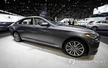 Hyundai Motor's Genesis Ranks 3rd in U.S. Mid-Size Luxury Market