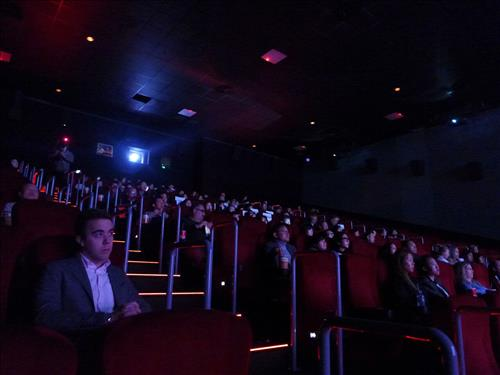 A screening event for the movie was held at CGV LA, located in Los Angeles. (Image : Yonhap)