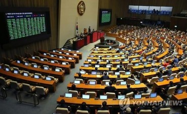 National Assembly Adopts Resolution Denouncing N.K. Missile Launch