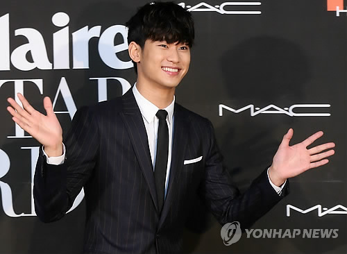 South Korean actor Kim Soo-hyun. (Image : Yonhap)