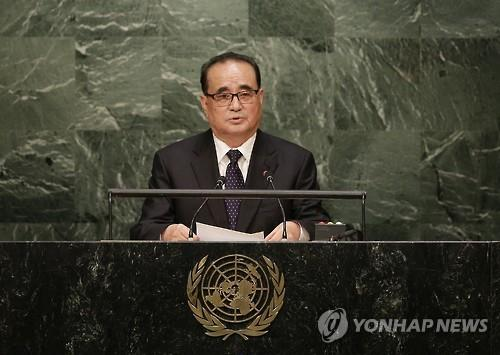 North Korean Foreign Minister Ri Su-yong. (Image : Yonhap)