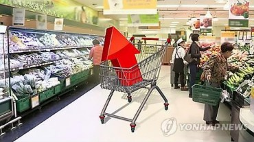 S. Korea's Consumer Prices Gain 0.8 Pct in Jan.