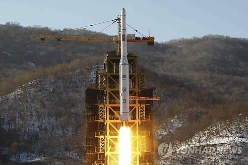 Recent satellite imagery shows the arrival of tanker trucks at the launch pad of North Korea's rocket site in an indication that the communist nation is forging ahead with a planned rocket launch, a North Korea-monitoring website said Friday. (Image : Yonhap)