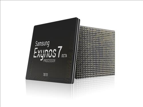 The Exynos 7870 (Image : Samsung Electronics Co.)