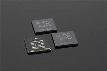 Samsung Mass Produces High-End Memory Chip for Smartphones