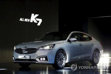 Sales of Kia's All-New K7 Top 10,000 Units