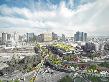Seoul Station Overpass to be Transformed