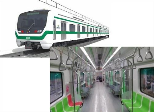 New Subway Train with Wider Seats to be Introduced