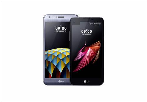 The LG X Cam (left) and X Screen smartphones (Image :  LG Electronics Inc.)