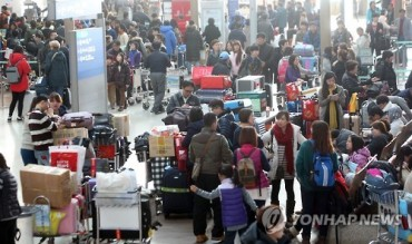 Record Numbers Travel Through Incheon Airport Over Holiday