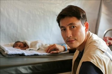 Actor Jung Woo-sung to Meet Syrian Refugees