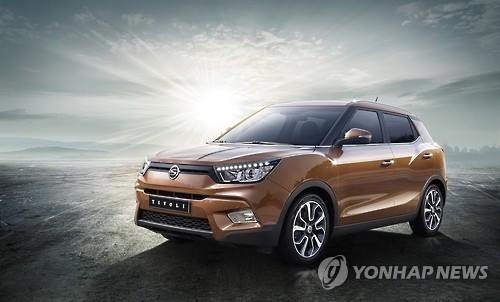 Ssangyong Motor Co, owned by India's Mahindra & Mahindra, plans to unveil the long body version of its popular Tivoli sport utility vehicle next month, an industry source said Thursday. (Image : Yonhap)