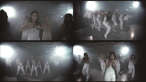 "Captures from the choreography practice video of 4minute's ""Hate."" (Image : Cube Entertainment)"