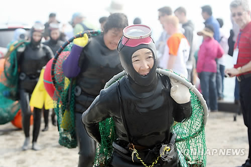 First 'Haenyeo' Academy Hands Down Tradition of Female Divers