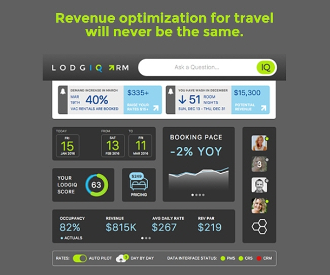 LodgIQ Unveils Its Next-Generation Revenue Optimization Platform for Travel; Secures $5 Million in Seed Funding Led by Highgate Ventures