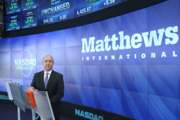 Matthews International Marks New Era with Launch of Refreshed Logo