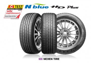 Nexen Tire Ranked First in Performance by ACE Lenkrad