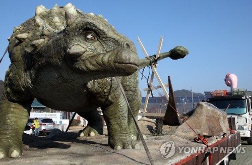 Dinosaurs Make Dramatic Return to Goseong