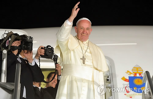 Pope Francis Popular in Korea