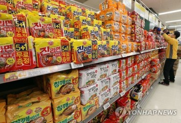 Exports of Korean Food Show Remarkable Growth in China