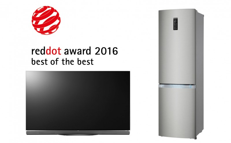 LG Leads Top-Tier Awards Couny  From Global Design Authority Red Dot