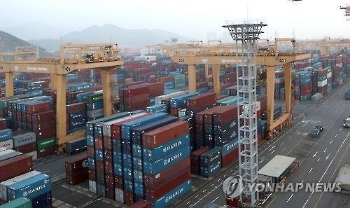 A container port in Busan, South Korea. (Image : Yonhap)