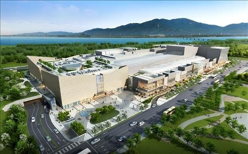 Shinsegae has picked Hanam Union Square as its main focus this year. A department store, cinema, theme park for kids, and entertainment facilities will be developed at the shopping complex. (Image : Yonhap)