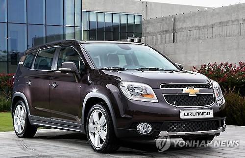 The Chevrolet Orlando by GM Korea Co. (Image : GM Korea)