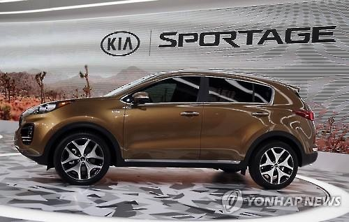 Kia Motors also launched the sale of the new Sportage in February in major European markets, including Germany and France, apparently hoping that it would serve as a key model to target the European market this year.' (Image : Yonhap)