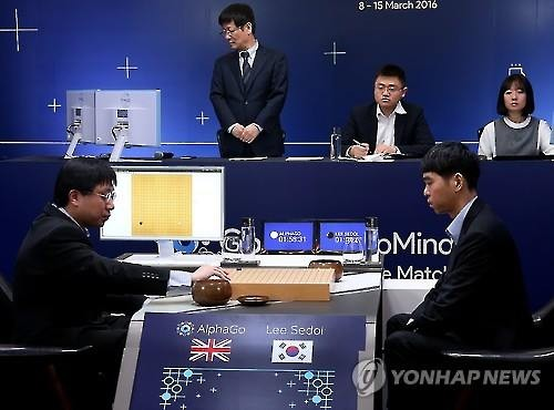 With the world watching on in awe, AlphaGo turned in a much better performance than expected, and won the first match of the five-match series. (Image : Google)