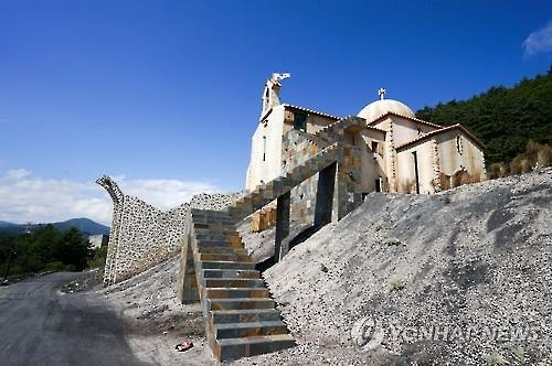 The city of Taebaek is rising as a new tourist hotspot after it was revealed as one of the locations featured in the hit Korean drama 'Descendants of the Sun'. (Image : Yonhap)
