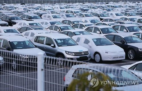 South Korean prosecutors raided Volkswagen AG's vehicle inspection center Friday as authorities crack down on the German automaker's tardiness in recalling cars that faked emission tests, officials said. (Image : Yonhap)