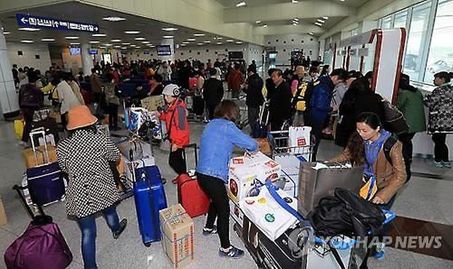 S. Korea: Chinese Group Tourists Can Stay up to 10 Days without Visas