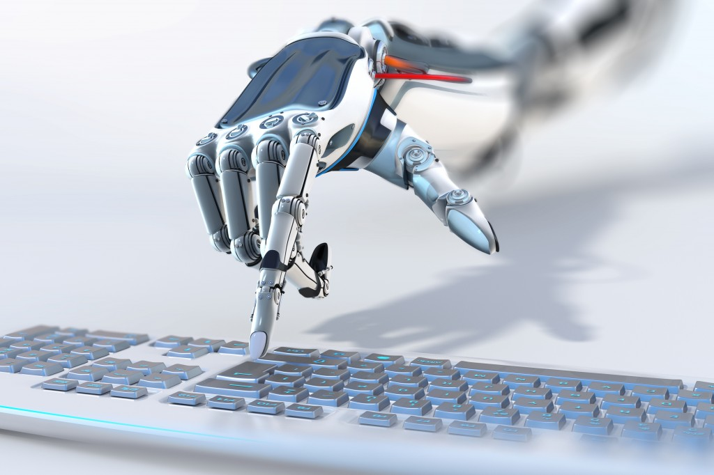 After witnessing the future of robots and artificial intelligence (AI) when pro Go player Lee Se-dol lost the first Go match to AlphaGo, robot-related stock prices are showing signs of ascent. (Image : Shutterstock)