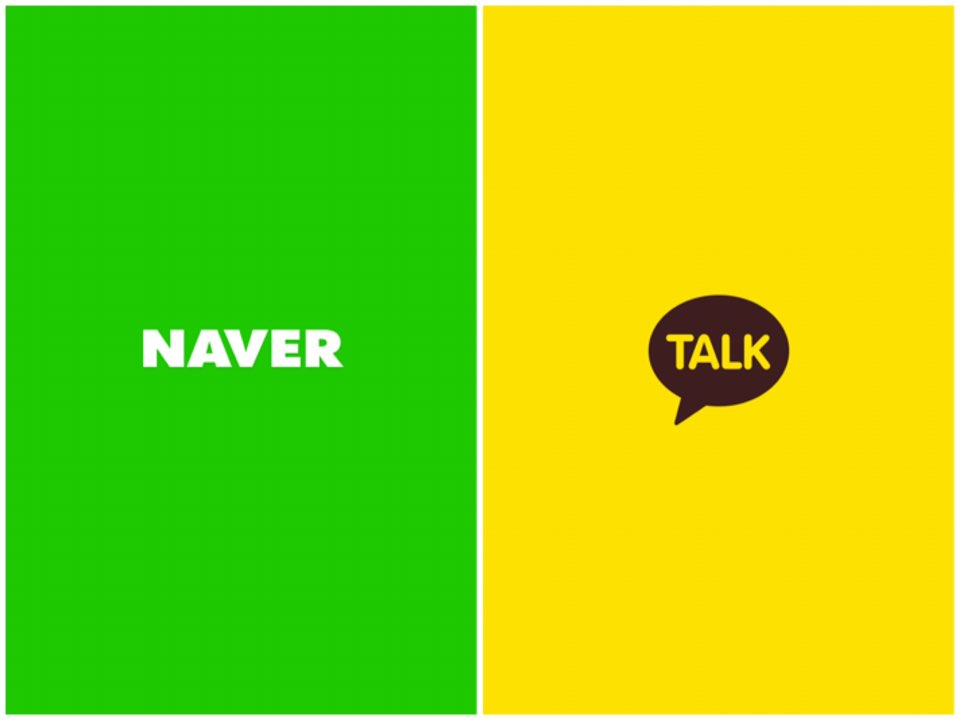 Korean internet giants Naver and Kakao are battling to take the lead in O2O (online to offline) businesses. (Image : Screen Capture of Naver and Kakao)