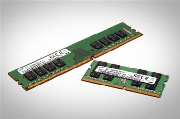 Samsung Mass Produces 10-Nano Level DRAM