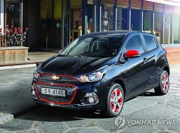 GM Korea's Spark Sales Hit Record Last Month