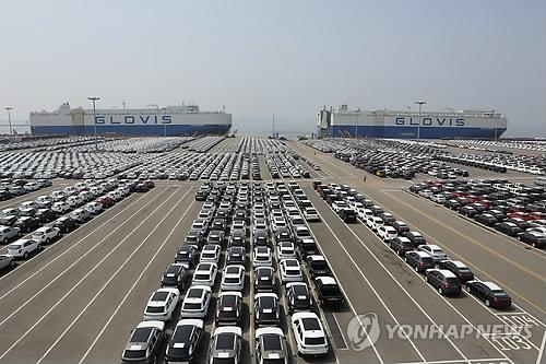 S. Korea's Car Exports Down 10.8 Pct in Q1