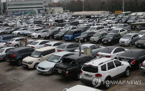 Sales of Used Cars in S. Korea Hit Record High in Feb.