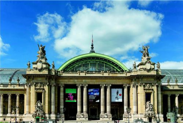 "This undated file photo shows Grand Palais in Paris, the French venue for the Korean pottery exhibition ""The Earth, Fire and Spirit,"" slated to run April 27 to June 20."