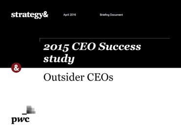 CEO Turnover at a Record High Globally, with More Companies Planning for New Chiefs from Outside the Company